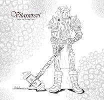 Vitasserevi the Holy Paladin by EmilyCammisa