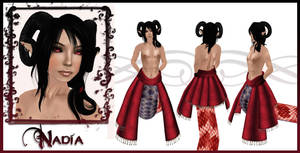 Nadia Character Sheet by EmilyCammisa