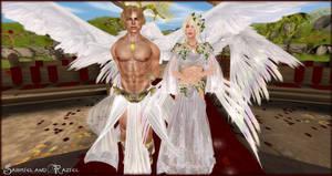 Gabriel and Raziel's Wedding by EmilyCammisa