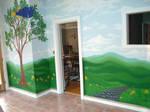 Sunroom Mural Complete by EmilyCammisa