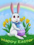 Happy Easter Card by EmilyCammisa