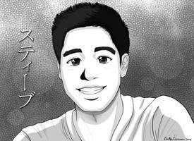 Steve Nguyen's Anime Portrait by EmilyCammisa