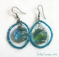 Tiny World Earrings by EmilyCammisa