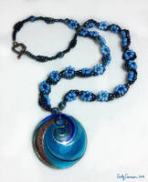 Mystic Spiral Necklace by EmilyCammisa