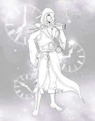 Chrono Lineart by EmilyCammisa
