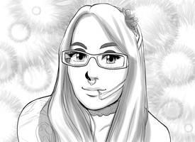 Lady Metal's 2nd Anime Portrait by EmilyCammisa