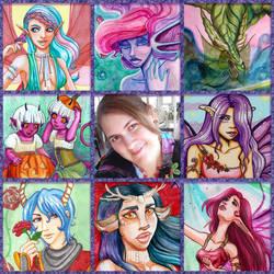 Emily Cammisa: Art vs Artist by EmilyCammisa