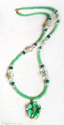 Emerald Dream Necklace by EmilyCammisa