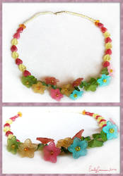 Flower Frolic Necklace by EmilyCammisa
