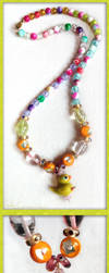 Waddles the Duck Necklace by EmilyCammisa