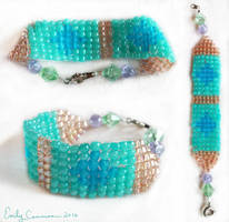 Mermaid Princess Bracelet by EmilyCammisa