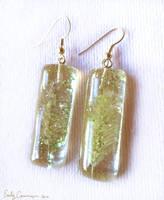 Grass Seed Earrings by EmilyCammisa