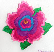 Hibiscus Flower Magnet by EmilyCammisa