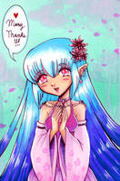 Thank You Anime Girl by EmilyCammisa