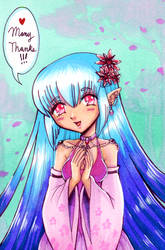 Thank You Anime Girl by EmilyCammisa