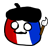 Franceball Emotion (Countryballs)