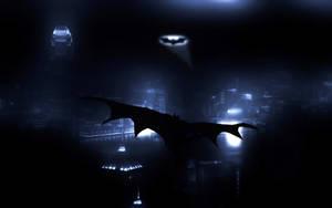 Batman - Gliding by PolishTank48