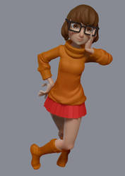 Velma_sketch by Yepezzzz