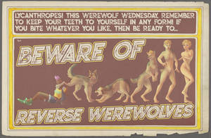 Beware of Reverse Werewolves! by nothere3