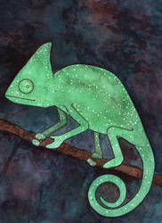 Chameleon by FawnLorn