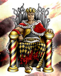 BeautyBarbers King Karl by pendragon55