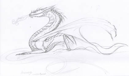 Smaug WIP by MistoftheDawn