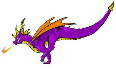 Spyro Boy For Interwebs. by MistoftheDawn