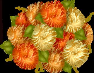 Craftykid Autumn Mum Bouquet by Craftykid