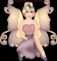 Craftykid Sitting Fairy by Craftykid