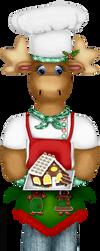Craftykidchristmasmoosechef by Craftykid