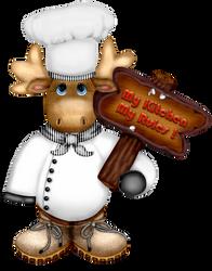Craftykidchristmasmoosechef 2 Mykitchen My Rules by Craftykid