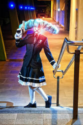 Miku Hatsune - Secret Police by maki-chama
