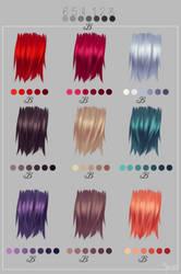 Fav Haircolors by Yettyen