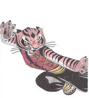 Master Tigress Colored by Natsuke1985