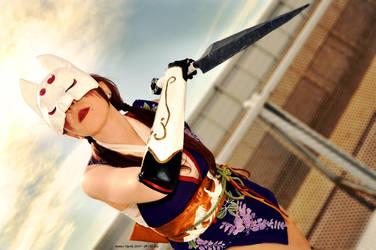 Kunimitsu Tekken Tag 2 - cosplay by Elis90