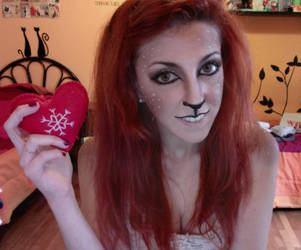 Reindeer girl makeup - Marry Christmas by Elis90