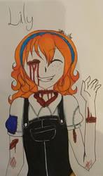 I drew Lily! by SagnaChan