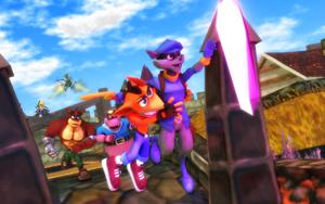 Team Bandicoot vs Team Cooper by NinjawsGaiden