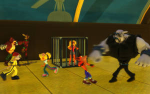 Team Bandicoot Vs Team Muggshot by NinjawsGaiden