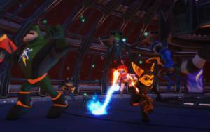 Crossover Battle by NinjawsGaiden