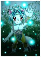 Louka and Spirits by roxxy-chan