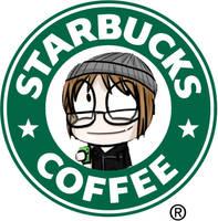 mikey way: starbucks logo by mogupom