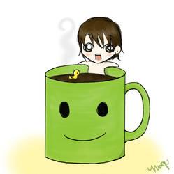 coffee bath. by mogupom