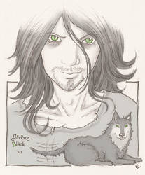 Sirius Black by saintes
