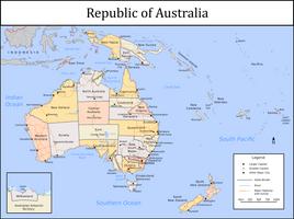 Republic of Australia by Tullamareena