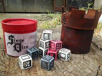 Siege Dice by BrianBrownArmoury