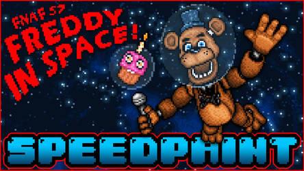 SPEEDPAINT - Freddy in Space - Pixel art Animated by GEEKsomniac