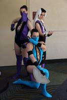 Mortal Kombat ladies by HoodedWoman