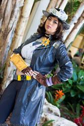 Borderlands 2 - Sheriff of Lynchwood Cosplay 2 by HoodedWoman