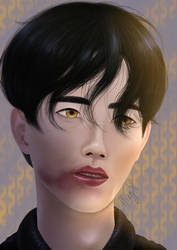 Portrait Study by StrawberryGlasses